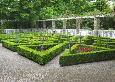 Historischer Rosengarten