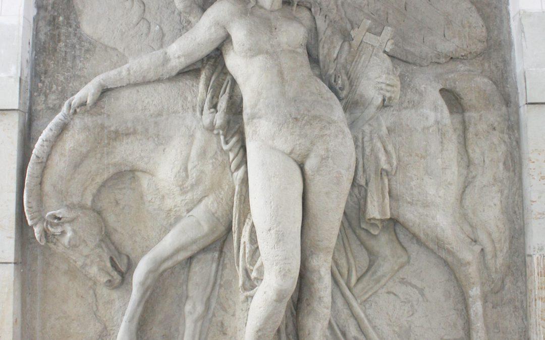 Restaurierung Pegasus-Relief